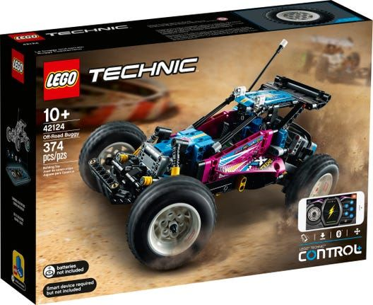 Lego Technic Off-Road Buggy 42124 / Helicopter 42092 / Boat 42089