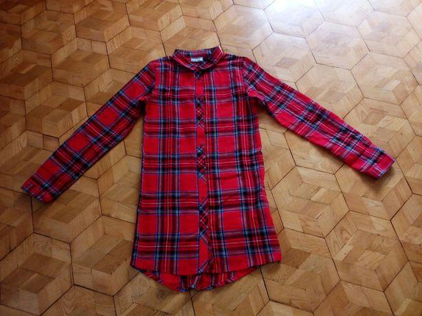 Koszula tunika w pięknym kolorze