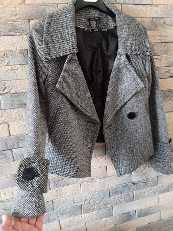 Пиджак пальто zara hm