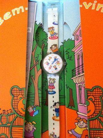 Relógio swatch fundação do Gil novo!!