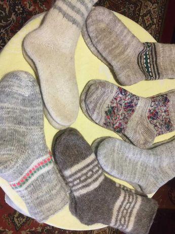 Носки натуральная шерсть мужские, женские, детские