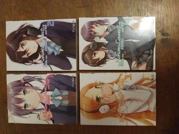 Kokoro Connect - Tom 1, 2, 3, 4 - manga - Sadanatsu Anda
