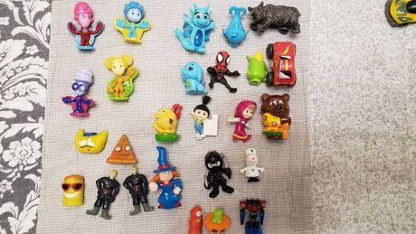 игрушки из киндеров фиксики