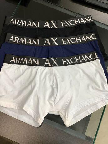 Мужское белье трусы плавки боксеры шортики Армани AX Armani t099