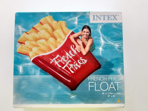 Dmuchany materac FRYTKI 175 x 132 cm INTEX 58775