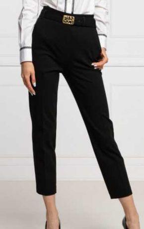 nowe spodnie pinko cygaretki z paskiem logo rozmar wloski it 42 38 M