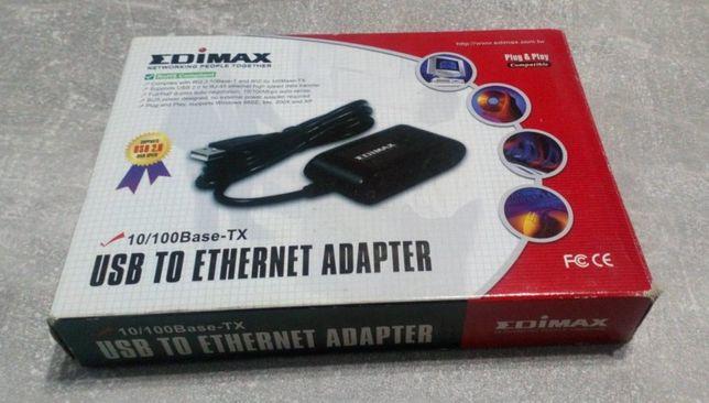 Karta sieciowa LAN Ethernet podłączana pod port USB
