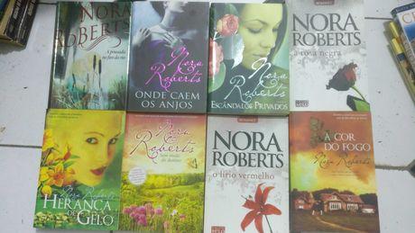 8 livros de Nora Roberts