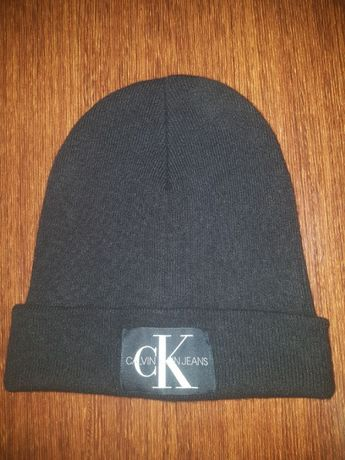 Czapka zimowa Calvin Klein beanie black K50K506246