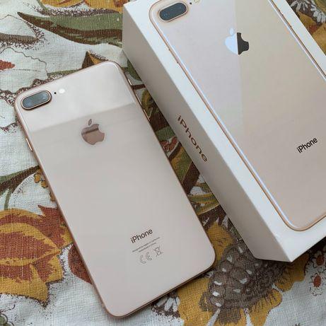 Идеальный iPhone 8 Plus 256GB Neverlock Gold |не 64