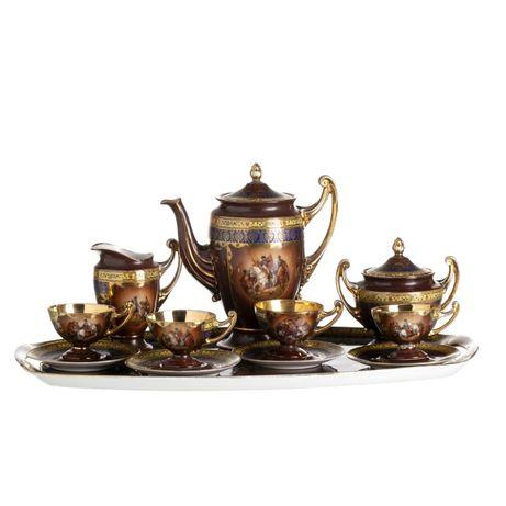 Serviço Chá Porcelana República Checa