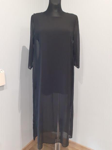 Sukienka grace nowa rock glam stylowa 42 xl siateczka