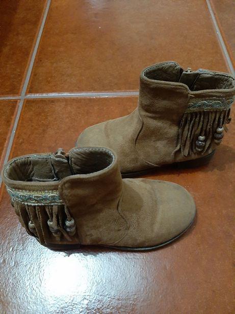 Botas de menina n.25