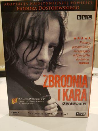 Zbrodnia i kara box 2 płyty dvd BBC