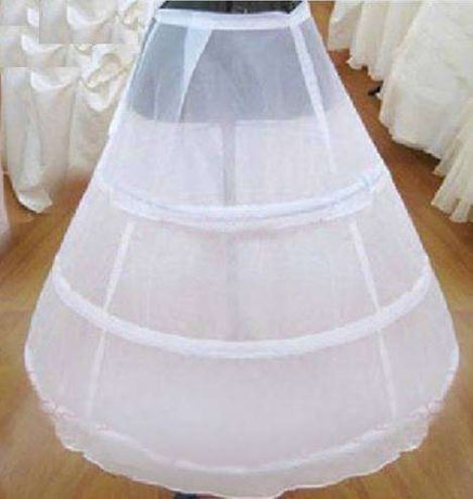 saiote simples para noiva ou vestido