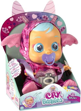 Cry Babies Плакса Дракончик Бруни Bruny the Dragon Doll пупс