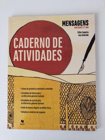 """Caderno de atividades """"Mensagens"""" 11°-Ano"""