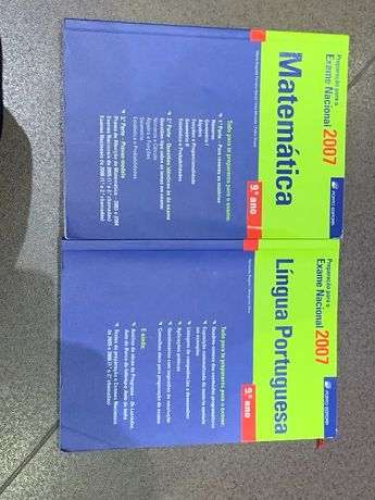 Livro preparar exames 9° ano matemática português