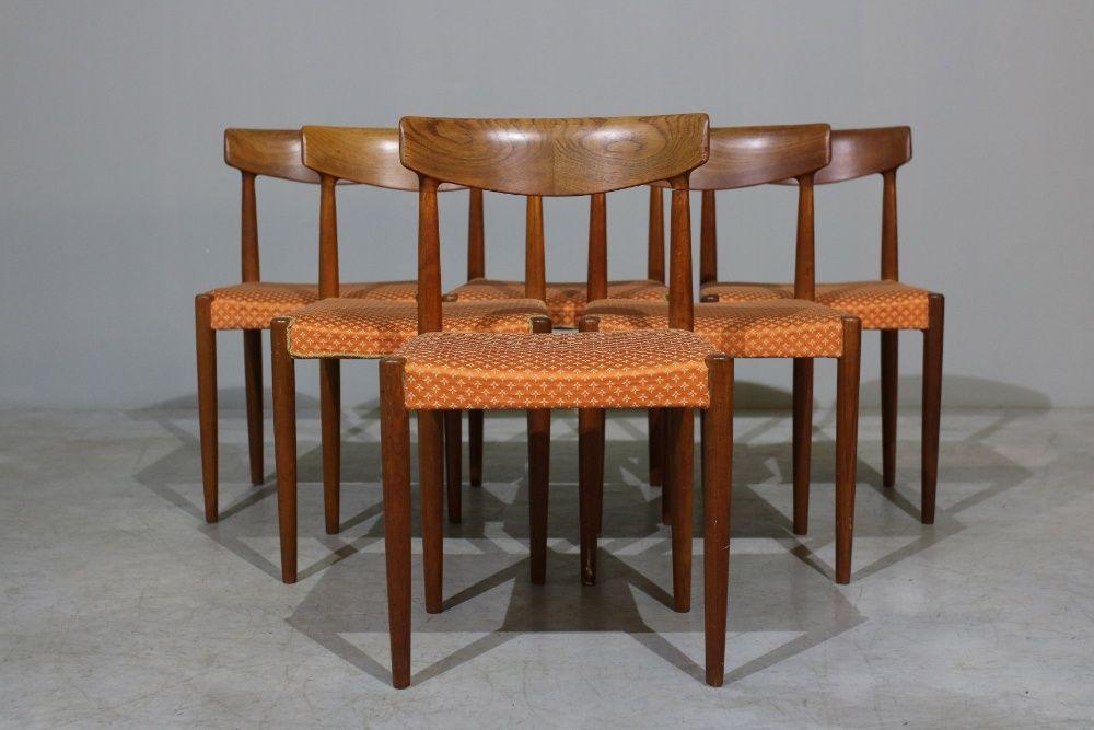 Conjunto de Cadeiras Knud Faerch modelo 343 em teca | Vintage Balazar - imagem 1