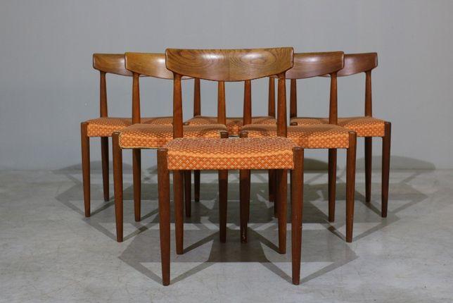 Conjunto de Cadeiras Knud Faerch modelo 343 em teca | Vintage