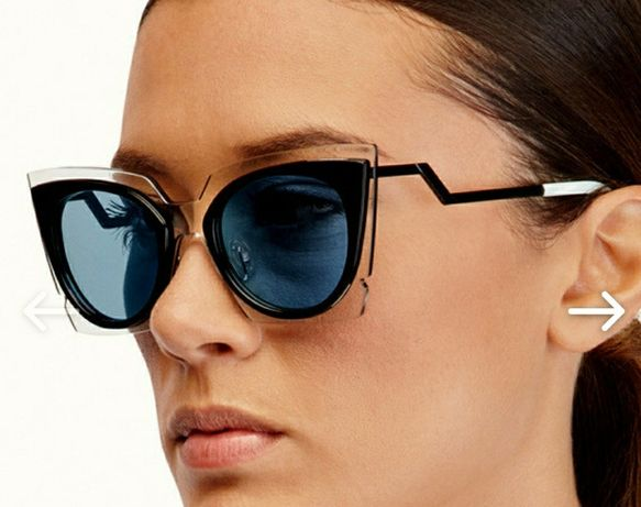 Супер стильные очки, форма бабочки.Качество 5+.