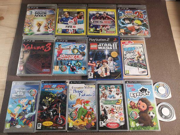Jogos Playstation Yakuza Naruto PS3 PS2 Lego Star War PSP