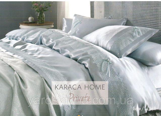 Постельное белье + покрывало ТМ Karaka Home даухспальный евро