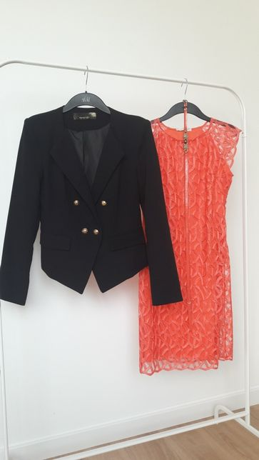 Zestaw sukienka żakiet 38 Na impreze wesele komunie Mega paka