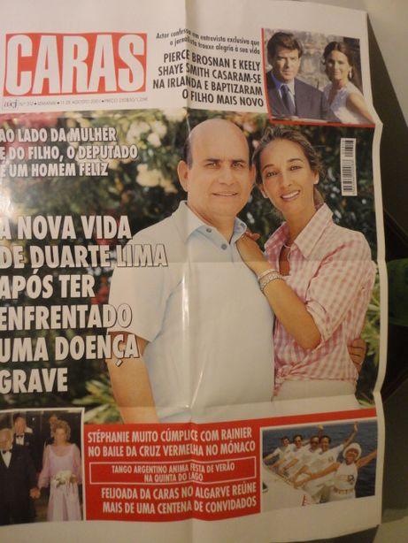 Poster Gigante Capa Revista Caras nº 313 de 11 Agosto 2001
