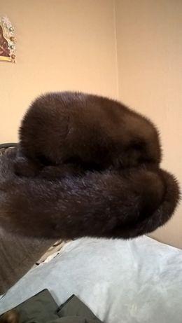 норковая элегантная шляпа