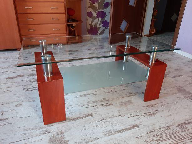 Stół  szklany ława