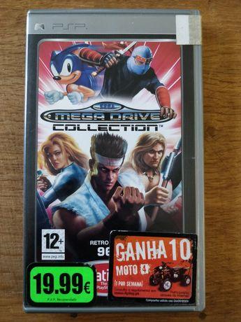 Jogo PSP original SEGA Mega Drive Collection