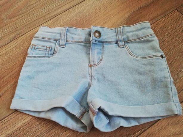 Spodenki jeansowe 104cm
