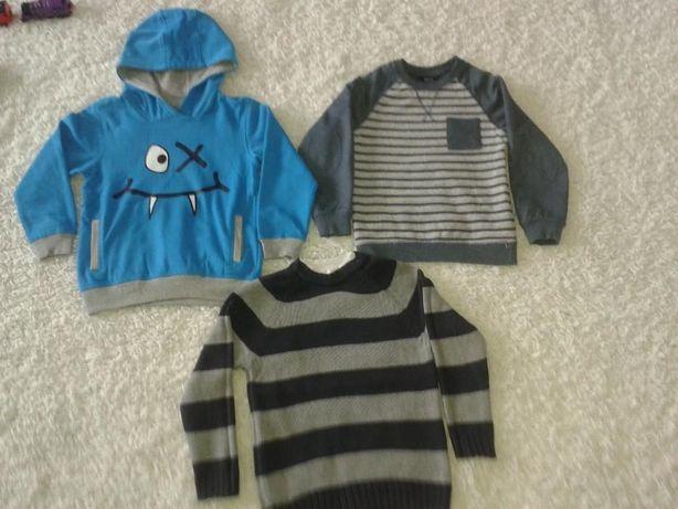 bluza,sweter,bluzy r.110,116 NOWA SMYK kangurka,swetry GEORGE,CHEROKEE