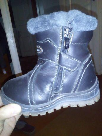Зимові чобітки чорні