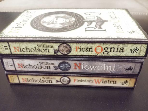 Ognisty wiatr William Nicholson t. 1-3