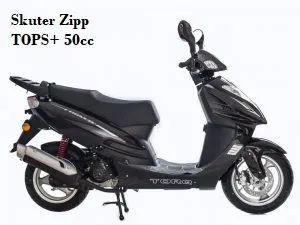 Zipp TOPS+ 50cc 4 Skuter,motorower,motocykl,serwis,naprawa
