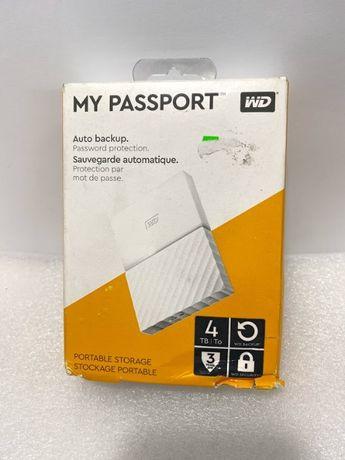 Зовнішній диск 4Tb WD My passport новий Western Digital USB 3.0
