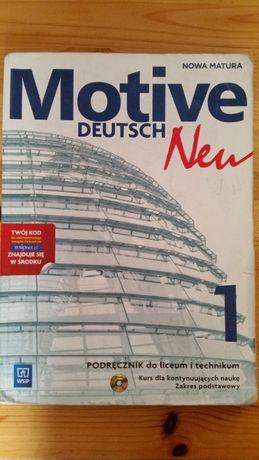 Podręcznik z ćwiczeniami do niemieckiego - Motive Deutsch Neu 1