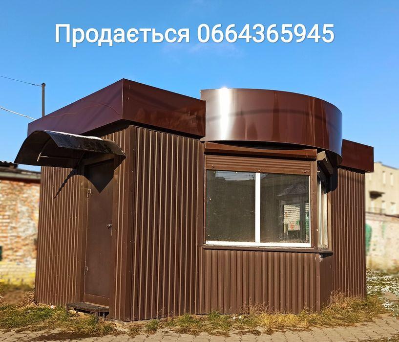 Продам кіоск-МАФ 18м2 в м.Луцьк. Новий без місця.Терміново Липины - изображение 1