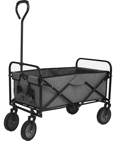 Wózek plażowy wakacyjny transportowy, leżak.