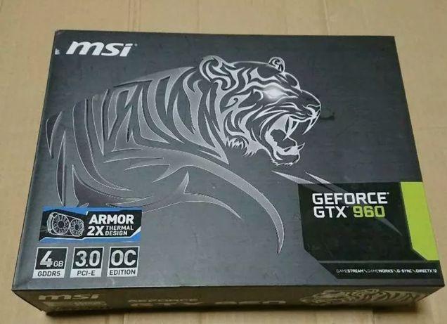 MSI Nvidea GeForce GTX960 4GB