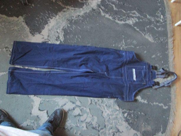 Spodnie robocze ogrodniczki bosman xxls 182cm-188cm. Spawalnicze.