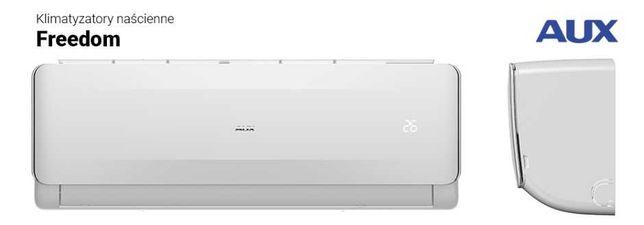 AUX Freedom montaż klimatyzacji 3.5 kw