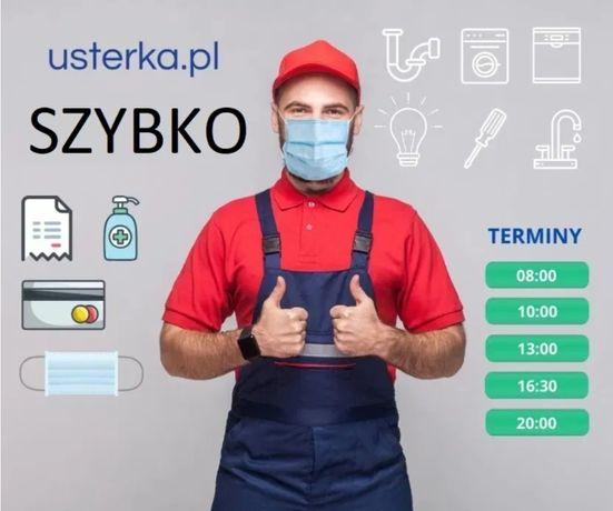 Naprawa serwis pralek zmywarek piekarników, elektryk i hydraulik 24/7