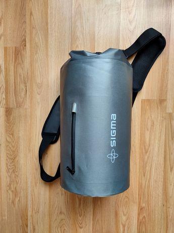 Герметический мешок рюкзак Sigma 25L водонепроницаемый мешок гермомешо