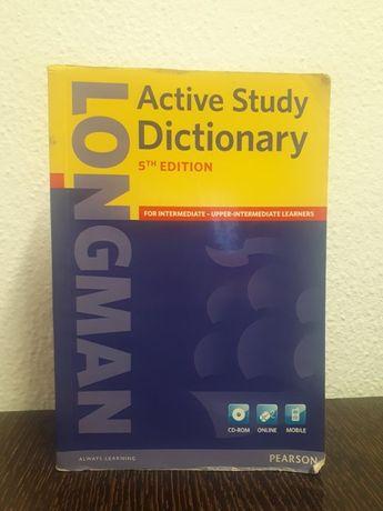 Dicionário de Inglês: Longman Active Study Dictionary 5th Edition