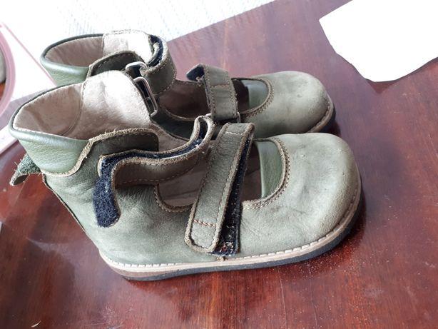 Ортофуты.закрытые сандали босоножки.кожа. 16 см