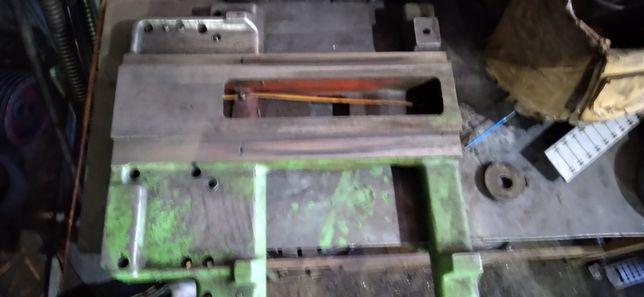 Поперечена, продольная плита (большая,малая плита) каретка 1к62