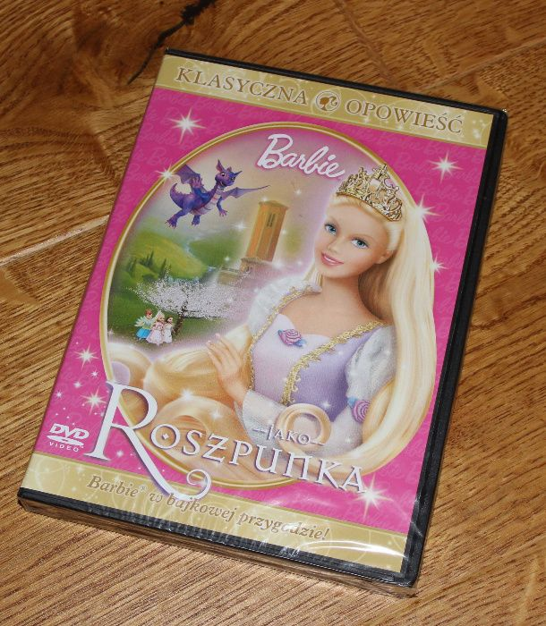 Barbie jako roszpunka bajka DVD - NOWA Gliwice - image 1